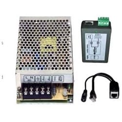 Wireless Ethernet System Power Kit, Plug-and-Play, Wall/Pole Mount, With Enclosure, Converter, Injector, For Remote Camera