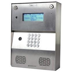 """Video Doorbell Intercom, Entraguard One, Surface/Flush Mount, 12 Volt AC/DC Adapter, 5.3"""" Length x 4.4"""" Width x 2.1"""" Depth, Aluminum Alloy"""