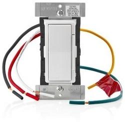 Lighting Dimmer, Universal, Z-Wave Technology, 120 Volt AC, 60 Hertz, 1000 Watt (Incandescent/Fluorescent), 450 Watt (LED/CFL)