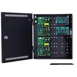 "Access Control Power System, Standard, Dual Voltage, 6 Ampere 12 Volt DC/3 Ampere 24 Volt DC, 75 Watt, 4-Door, 4-Lock, 8 Auxiliary, 12"" Width x 4.5"" Depth x 14"" Height"