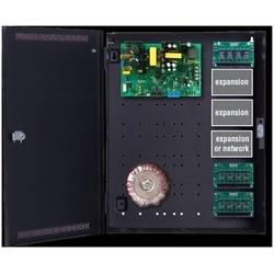 """AC/DC Power Supply, Fused, 200 VA at 16.5 Volt AC, 20 Ampere 12 Volt DC/10 Ampere 24 Volt DC, 8 Auxiliary, 20"""" Width x 4.5"""" Depth x 16"""" Height"""