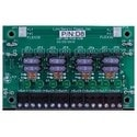 """DC Power Distribution Module, Auxiliary, Fused, 12/24 Volt DC, 3 Ampere, 8-Output, 4"""" Width x 1.5"""" Depth x 2.5"""" Height"""