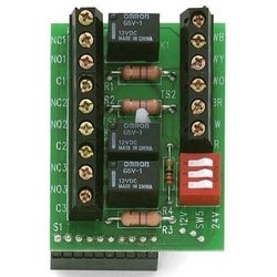 Relay Module Board, 3-Relay, Plug-On, REX Input, 1 Ampere, For 212I/212W Style Keypad