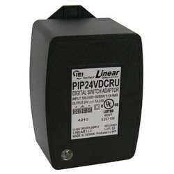 """Power Supply, Plug-In, Auto-Resetting Poly Fuse, 100 to 240 Volt AC at 50/60 Hertz Input, 24 Volt DC at 2 Ampere, 24 Watt, Output, 2.5"""" Width x 2.25"""" Depth x 3.5"""" Height"""