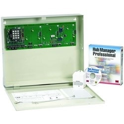 Cabinet Access Control System Kit, 1-Door, Includes P-300HA Proximity Reader/AC Transformer/12/24 Volt DC Power Supply for Lock Power