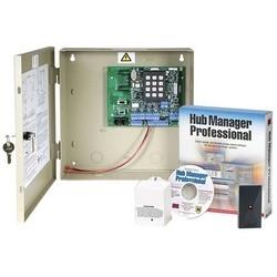 Door Access Control System Kit, 1-Door, 12 Volt DC, 1 Ampere, Includes Metal Cabinet Cam Lock/AC Transformer/P-300HA Proximity Reader