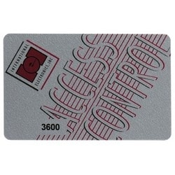 Access Control Credential Stripe Card, Magnetic, 100 each per Pack