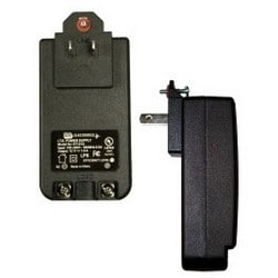 Power Supply, 100 to 240 Volt AC at 50/60 Hertz Primary, 1 Ampere at 12 Volt DC Secondary, With (2) Screw Terminal