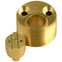 "Mortise Cylinder Extension Kit, 3/4"" Length, With Mounting Screw"