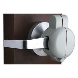 Lever Key Blok, Keyed Alike, Portable, Light, Strong, K4 Chicago Key Blank Code, High Strength Aluminum Alloy, Silver Powder Coated