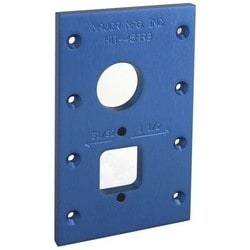"""Router Template, For 31"""" or 32"""" Adams Rite Lock"""