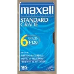VHS Video Tape, Line-Up, Standard Grade