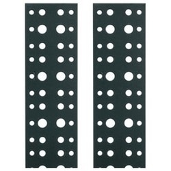 Essex Lacing Strips, 18 RU, 2 Pack, 18 RU vertical cable management lacing strip, 2-pack
