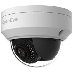 "IP Camera, Mini Dome, Day/Night, Outdoor, Dual Stream, H.264/MJPEG, 2 Megapixel, 2.8 MM Fixed Lens, 12 Volt DC, 5.5 Watt, 4.28"" x 3.2"", Metal, IP66, PoE"