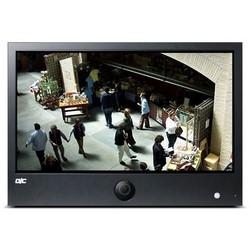 "LED Display Monitor, Public View, 31.55"" Screen, 1920 x 1080 Resolution, 240 Volt AC, 29.61"" Length x 20.28"" Width x 4.13"" Height, Galvanized Iron, Black"