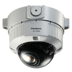 """Security Camera, Fixed Dome, Vandalproof, Surface Mount, 6 Camera, Day/Night, NTSC/PAL, 1/3"""" CCD Sensor, 700 TVL Resolution, 2.9 to 8 MM Lens, 24 Volt AC/12 Volt DC"""