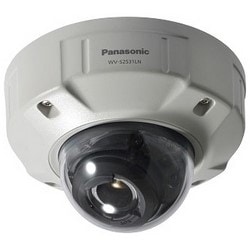 Network Camera, Standard, Dome, Full HD, ICR, HLC, Day/Night, Outdoor, H.265/H.264/JPEG, 1920 x 1080 Resolution, F1.6 2.8 to 10 MM Lens, 12 Volt DC, PoE, Clear, With IR LED