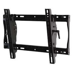 """Tilt Wall Mount, Non-Security Hardware, 100 Lb Load, 21.83"""" Width x 2.63 to 4.74"""" Depth x 12.81"""" Height, +15/-5 Degree Tilt, High Gloss, Black, For 32 to 46"""" Display"""