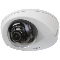 Network Camera, IP, Wedge VR Dome, Environmental, Vandalproof, Surface Mount, Day/Night, MJPEG, 2 Megapixel, 2.8 MM Fixed, PoE, 24 Volt AC, Metal Body, Clear Dome
