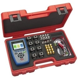 Cable Test Kit, Includes Main Unit, Network/Tel Test and ID Smart/Push-On Coax ID/RJ45 Data ID Remote Set, USB Cable, RJ45 Port Saver, RJ45 to Alligator, Female Adapter