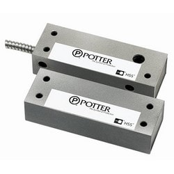 High Security Contact, Dual Contact, 30 Volt DC, 0.25 Ampere, 0.25 Watt, Silver Gray Anodized