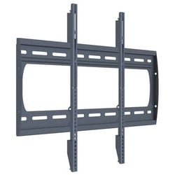 """Panel Wall Mount, Low Profile, 175 Lb Capacity, 33.25"""" Width x 0.95"""" Depth x 21.38"""" Height, Black, With (1) Back Plate, (1) PM Series Hardware Pack, (2) Adapter Arm"""