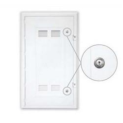 "Media Distribution Enclosure Lid/Frame Assembly, Locking, 30"", White, For P3000 Enclosure Base"