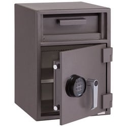 """Depository Chest, 2-Nose, 150 Lb Capacity, 14"""" Width x 14"""" Depth x 27"""" Height"""