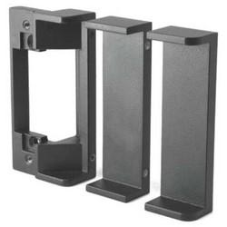 "Electric Strike Lip Bracket Extension Kit, Standard Profile, 3"", Black"