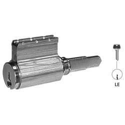 Door Lock Cylinder, 6-Pin, B Knob, LE Keyway, Satin Nickel, With (2) Nickel Silver Change Key, For 6 Line Bored Lock
