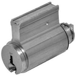 Door Lock Cylinder, 6-Pin, VB Keyway, Satin Nickel, With (2) Nickel Silver Change Key, For 758/858 Padlock