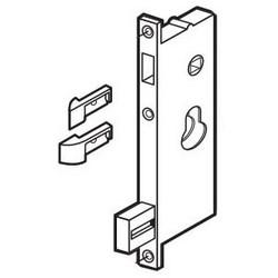 Door Mortise Lock Insert, Non-Handed, Reverse Latchbolt