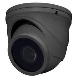 Network Camera, Mini-Turret, WDR, OSD, Day/Night, 1920 x 1080 Resolution, 2.9 MM Fixed Lens, 12 Volt DC, 100 Milliampere, Cast Aluminum, Dark Gray Housing