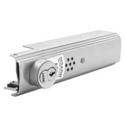 "Exit Device Alarm Kit, Wide Stile, 9 Volt Battery Operated, Satin Stainless Steel, For 36"" Apex Series Device"