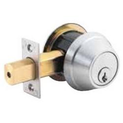 Set of 2 NEW Single Cylinder US26D Deadbolt Door Lock Schlage Keyed Different