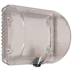 """Medium Thermostat Protector, Clear with Key Lock, 127mm (4.62"""") H x 140mm (5.5"""") W x 76mm (3"""") D"""