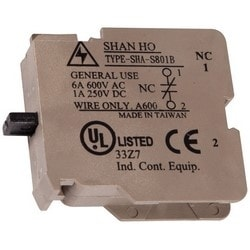 Pushbutton Switch Contact, NC