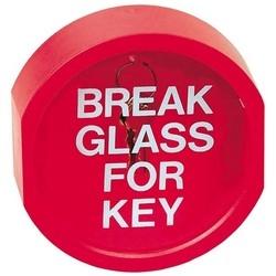 "Glass Break Key Holder, 4.125"" Width x 1.25"" Depth x 4.375"" Height"