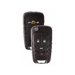 Key Remote, 4-Button, Passive Entry Passive Start, 315 Megahertz, OBP-11 Programming, For Chevrolet 2011 to 2016 Year Model