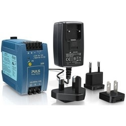 "Power Supply Adapter, Screw Connector, 110 to 230 Volt AC, 50/60 Hertz Input, 12 Volt DC 1.5 Ampere Output, 18 Watt, 1.7"" Width x 1.4"" Depth x 2.9"" Height, With Ferrule/Barrel"