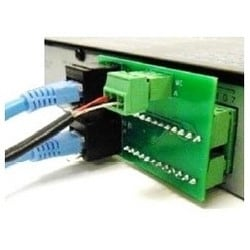 Connection Adapter, RJ45 Connector, For Q-SS9012PS Multi-Zone Speaker