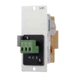 "Amplifier Line Input Module, Female XLR Connector, 24 Volt DC, 600 Ohm, 20 Hertz to 20 Kilohertz, -18 dB Input Sensitivity, 1.38"" Width x 3.46"" Depth x 3.17"" Height"