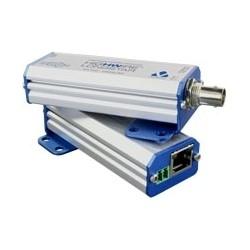 IP Camera Ethernet Over Coax Base Unit, Base Side, For Long Range Ethernet Over Coax