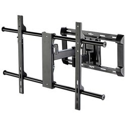 """Flat Panel Articulating Mount, Large, 150 Lb Capacity, 34.1"""" Width x 18.2"""" Depth x 21.65"""" Height, Black Powder Coated, For 42 to 80"""" Flat Panel"""