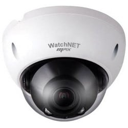 Network Camera, Vandalproof, Dome, IR, Full HD, DWDR, ICR, Day/Night, H.265/H.264/MJPEG, 2304 x 1536 Resolution, F1.4 Motorized/Fixed Iris 2.7 to 12 MM Lens, 12 Volt DC, PoE