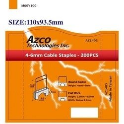 STAPLES FOR AZS667 - SMALL