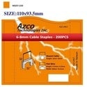 STAPLES FOR AZS667 - LARGE