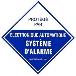 DÉCALQUE GÉNÉRIQUE D'ALARME - PAQUET DE 10 FRANÇAIS