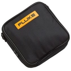 "Soft Carrying Case, 9"" Width x 2.6"" Depth x 9.5"" Height, Durable Polyester 600D, Black, For 20/70/11X/87V/170 Series Digital Multimeter, 5 each per Pack"
