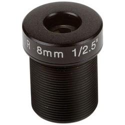 "Network Camera Lens, Megapixel, Fixed Iris, M12 Mount, F1.6 8 MM Focal Length, 40 Degree View, 0.5"" Diameter x 0.7"" Length, For P39-R Series Network Camera, 10 each per Pack"